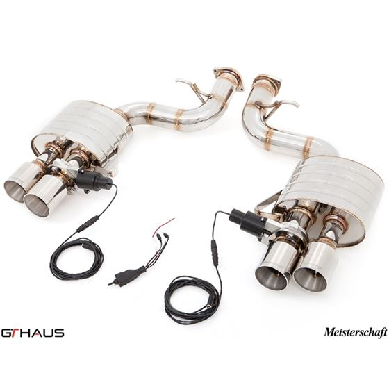 GTHAUS GTC Exhaust (EV Control)- Stainless- FE02-4