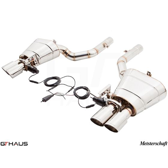 GTHAUS GTC Exhaust (EV Control)- Stainless- BM15-4