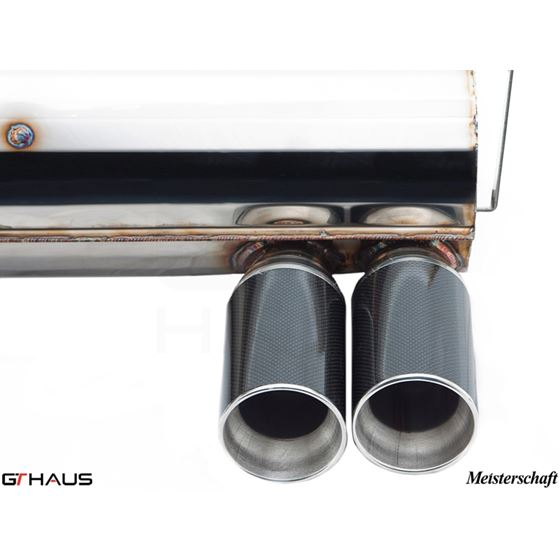 GTHAUS GT Racing Exhaust- Stainless- BM0211204-4