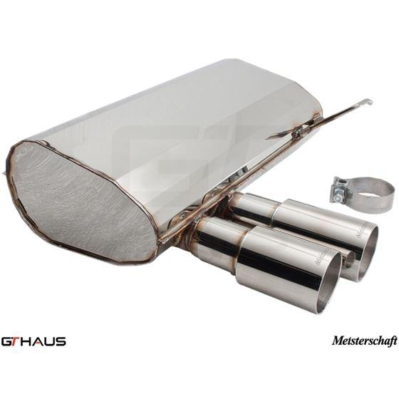 GTHAUS GT Racing Exhaust- Titanium- BM0352201-4