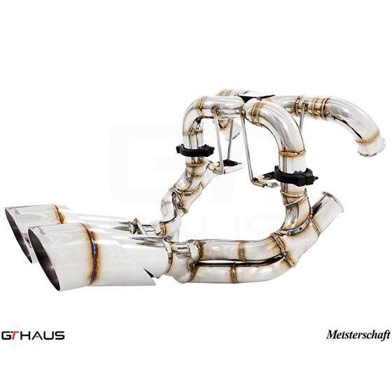 GTHAUS Super GT Racing Exhaust- Titanium- LA0222-2