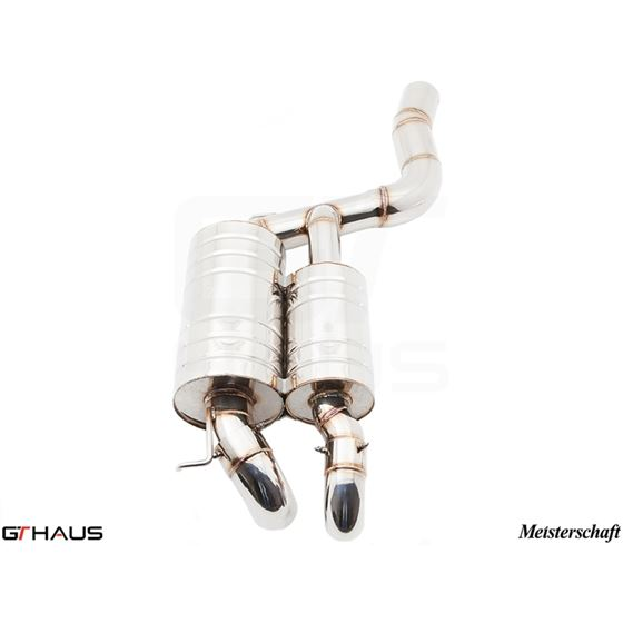 GTHAUS HP Touring Exhaust- Stainless- BM1721100-2