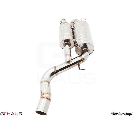 GTHAUS GT Racing Exhaust- Stainless- BM1711200-2
