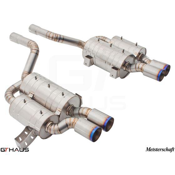GTHAUS GT2 Racing Exhaust- Titanium- BM0812304-4