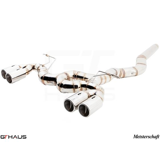 GTHAUS Super GT Racing Exhaust (Includes Optiona-4