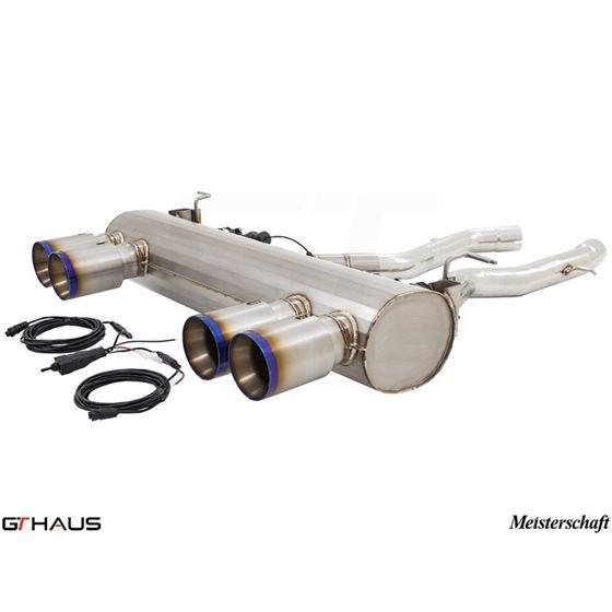 GTHAUS GTC Exhaust (EV Control)- Titanium- BM321-2