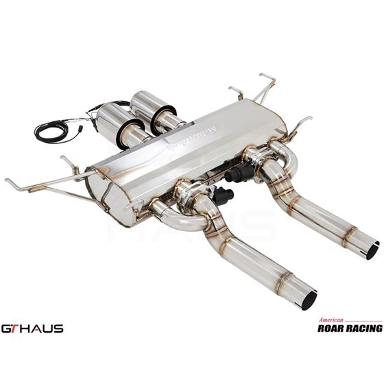 GTHAUS GTC Exhaust (EV Control)- Stainless- CA01-4