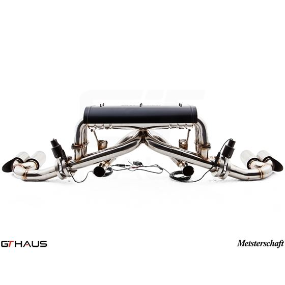 GTHAUS GTC Exhaust EV Control- Stainless- FE0111-2