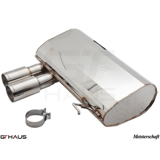 GTHAUS HP Touring Exhaust- Stainless- BM0331101-2