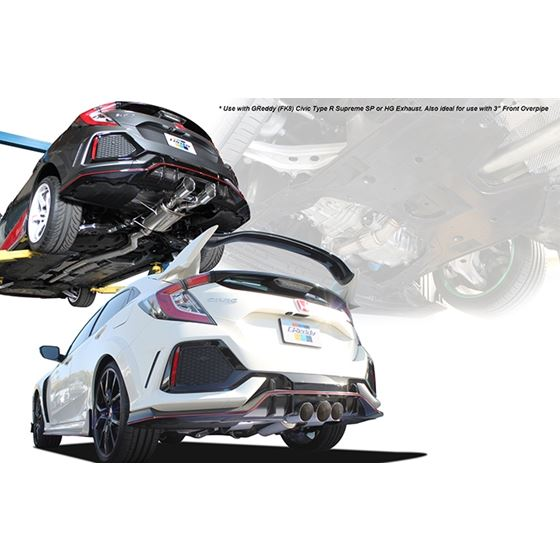 Greddy Forward Front Pipe for Honda Civic Type-R-4