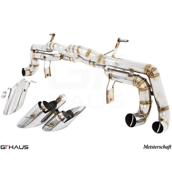 GTHAUS Super GT Racing Exhaust- Titanium- LA0412-2