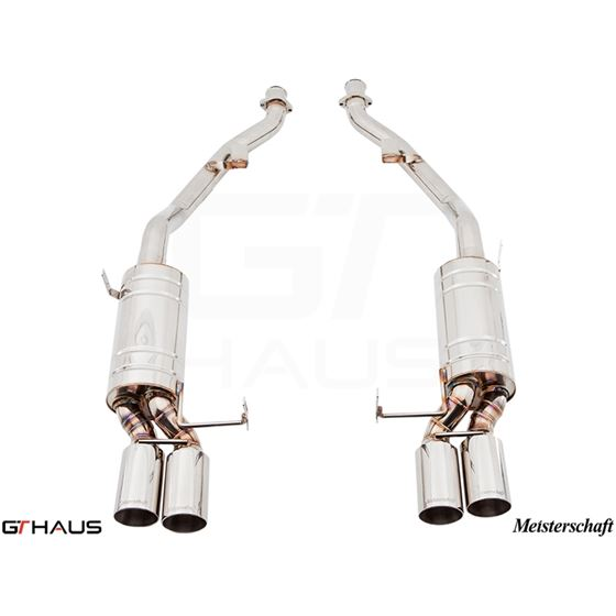 GTHAUS HP Touring Exhaust- Stainless- BM1911104-2