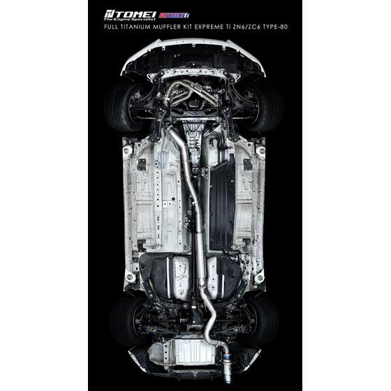 FULL TITANIUM MUFFLER KIT EXPREME Ti ZN6 ZC6 TYPE 80 TB6090 SB03C 2