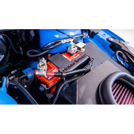 GrimmSpeed Lightweight Battery Mount - Ford Focu-2
