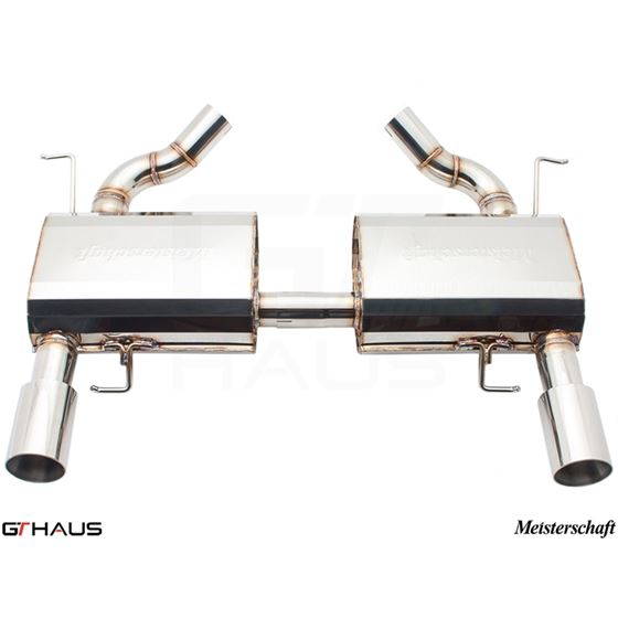 GTHAUS HP Touring Exhaust- Stainless- BM0411103-2