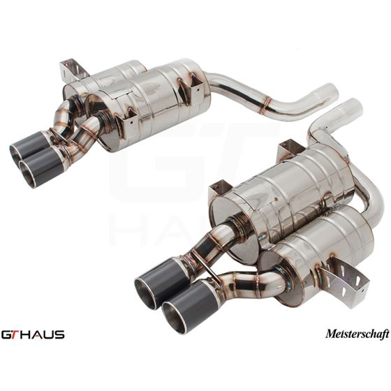 GTHAUS HP Touring Exhaust- Stainless- BM0811104-2