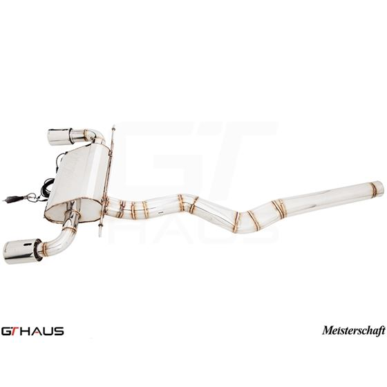 GTHAUS GTC Exhaust (EV Control)- Stainless- BM31-4