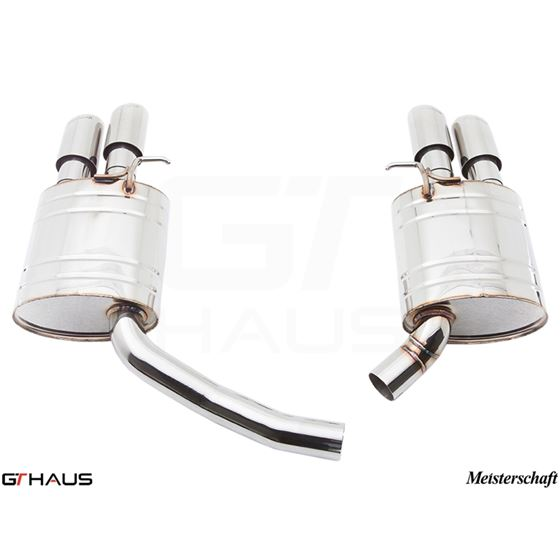 GTHAUS GT Racing Exhaust- Stainless- AU0711204-2