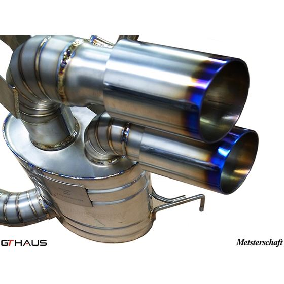 GTHAUS GT Racing Exhaust- Titanium- BM0112201-4