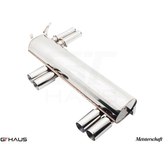 GTHAUS HP Touring Exhaust- Stainless- BM0211104-4