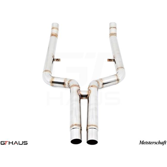 GTHAUS Bolt-on Front pipe (avoid cutting) 650i o-2