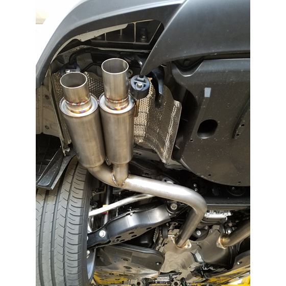 PPE Engineering Lexus RC350 Dual exhaust polishe-2