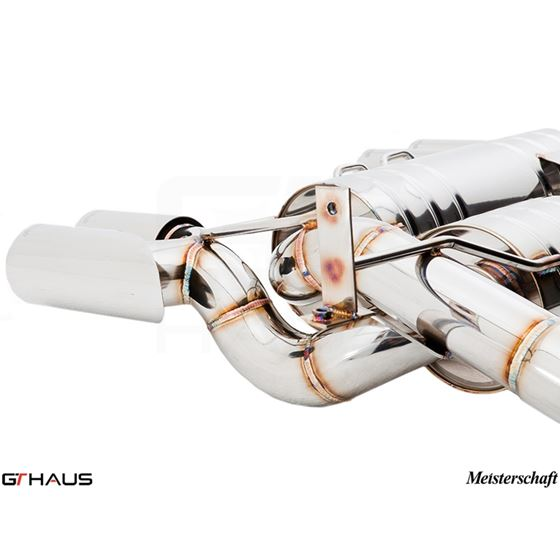 GTHAUS GT Racing Exhaust (Includes SUS SR Pipes)-4