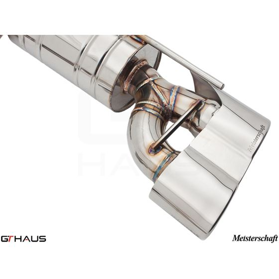 GTHAUS GT Racing Exhaust- Stainless- ME0441217-4