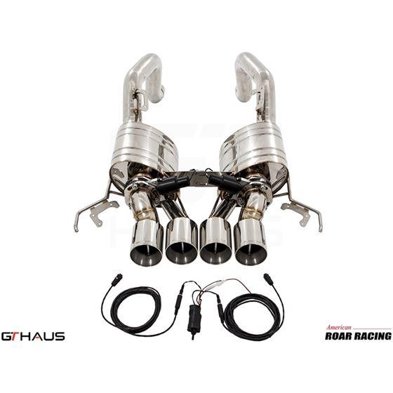 GTHAUS GTC Exhaust (EV Control)- Stainless- CV02-2