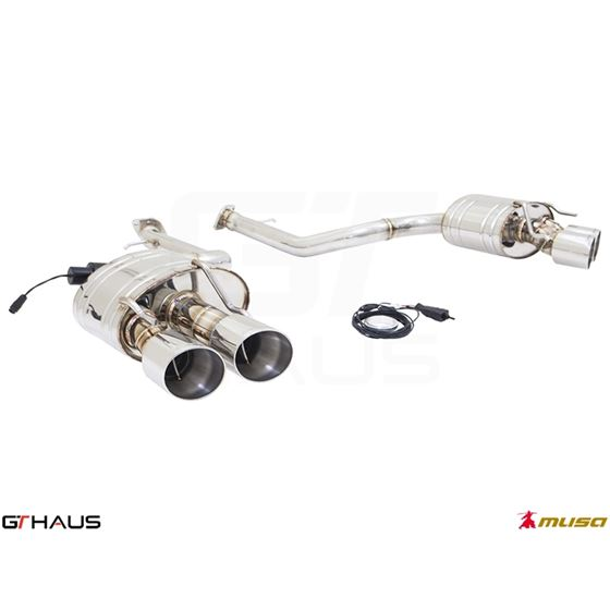 GTHAUS GTC Exhaust (EV Control)- Stainless- LE05-2