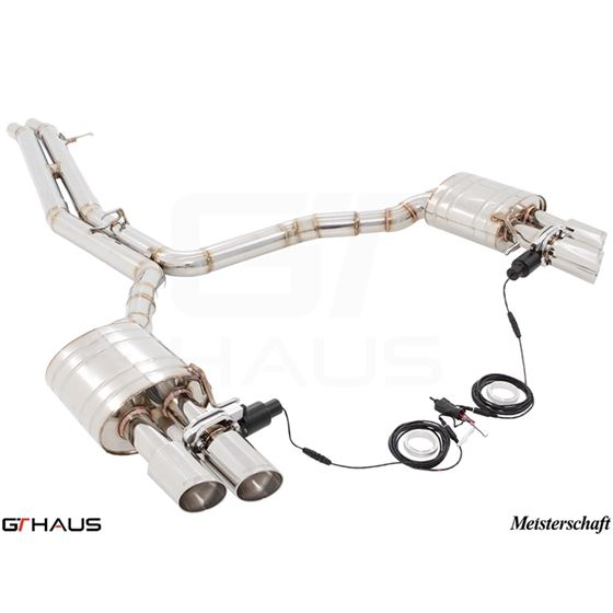 GTHAUS GTC Exhaust (EV Control)- Stainless- AU01-2