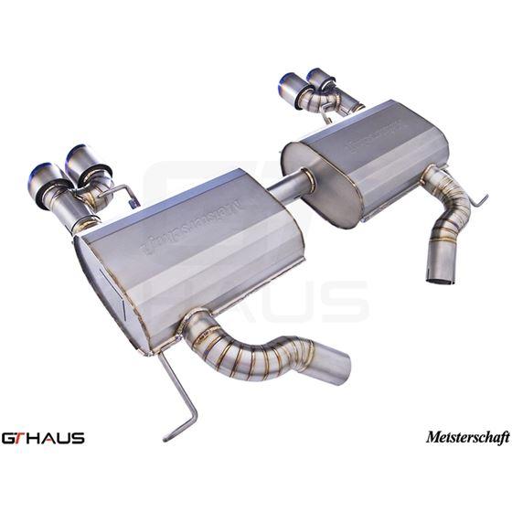 GTHAUS GT Racing Exhaust- Titanium- BM0412204-2