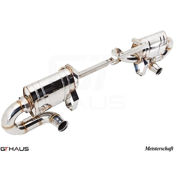 GTHAUS Super GT Racing Exhaust- Stainless- LA012-4