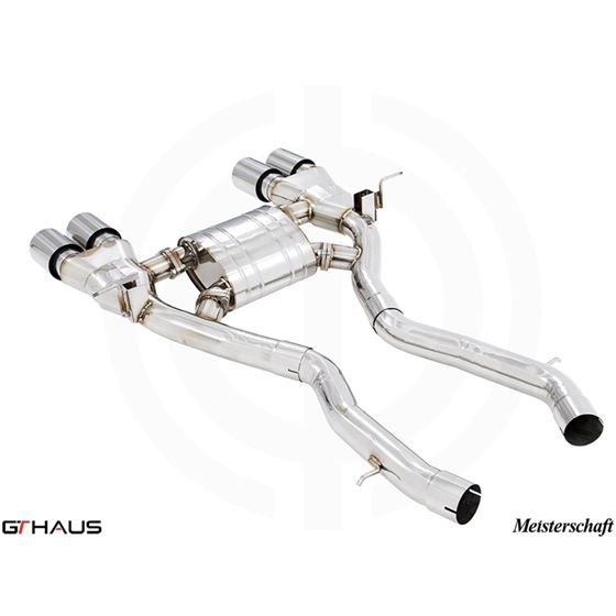 GTHAUS GT Racing Exhaust- Stainless- BM3211205-4