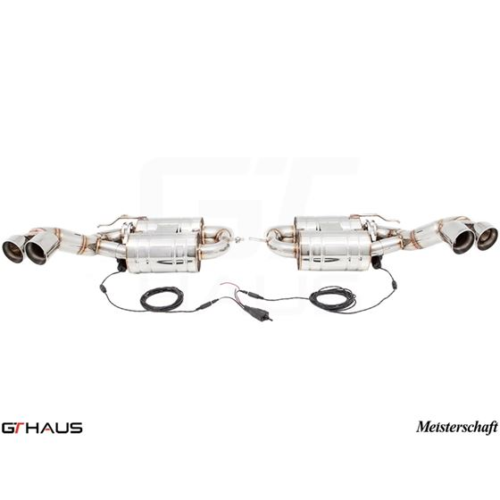 GTHAUS GTC Exhaust (EV Control)- Stainless- BM23-4