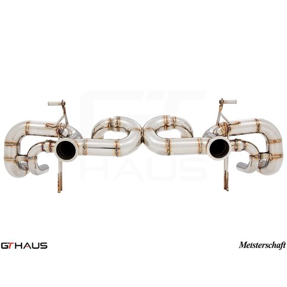 GTHAUS Super GT Racing Exhaust- Stainless- LA013-4