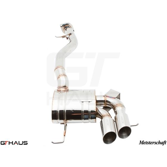 GTHAUS HP Touring Exhaust- Stainless- BM0111101-2