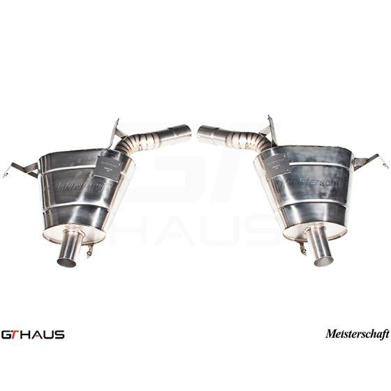 GTHAUS GT Racing Exhaust- Titanium- BM2212200-2
