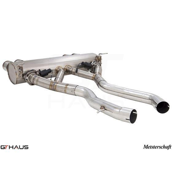 GTHAUS GTC Exhaust (EV Control)- Titanium- BM321-4