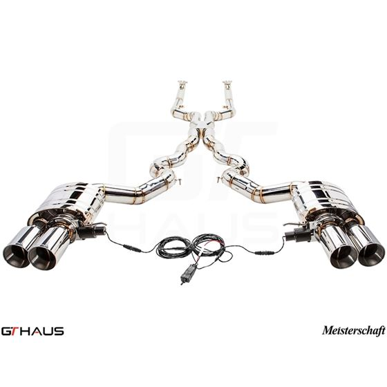 GTHAUS GTC Exhaust (EV Control)- Stainless- BM27-4