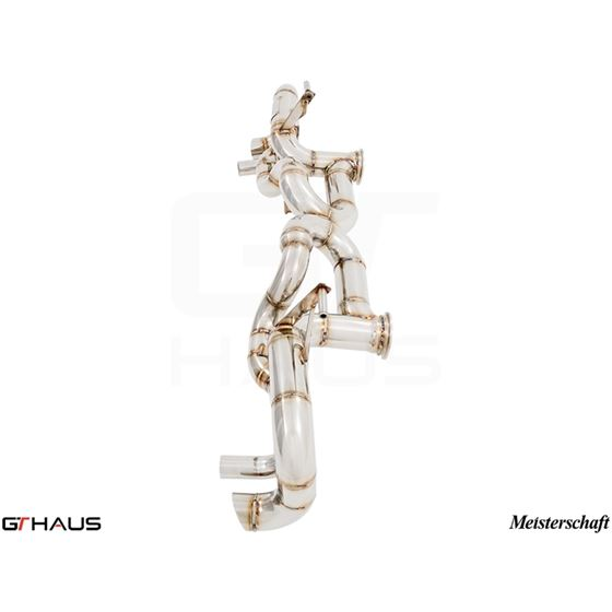 GTHAUS Super GT Racing Exhaust- Stainless- LA013-2