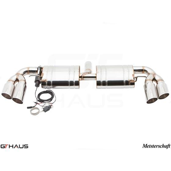 GTHAUS GTC Exhaust (EV Control)- Stainless- AU03-2