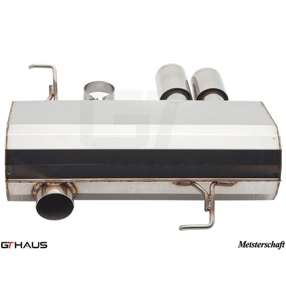 GTHAUS HP Touring Exhaust- Stainless- BM0351101-4