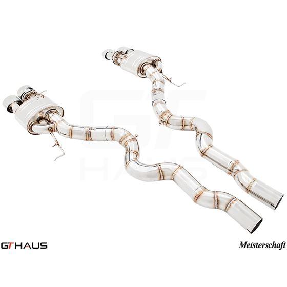 GTHAUS Super Light GT Racing Exhaust (Ti Rear Un-2