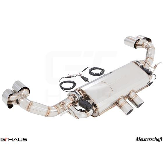 GTHAUS GTC Exhaust (EV Control)- Stainless- BM34-4