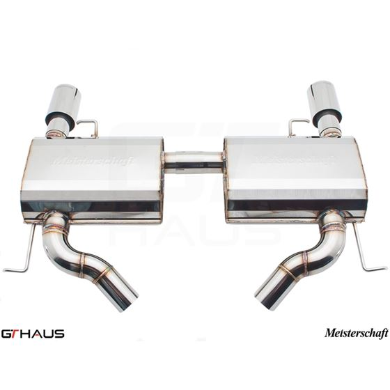 GTHAUS GT Racing Exhaust- Stainless- BM0421202-2