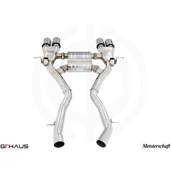 GTHAUS GT Racing Exhaust- Stainless- BM3211206-2