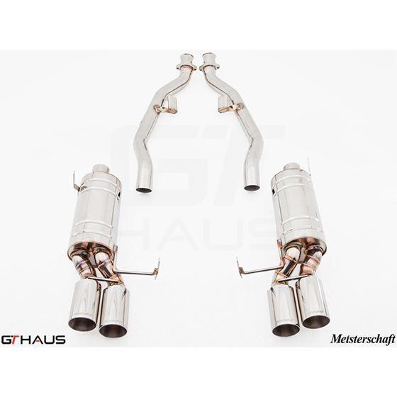 GTHAUS GT Racing Exhaust- Stainless- BM1921204-4