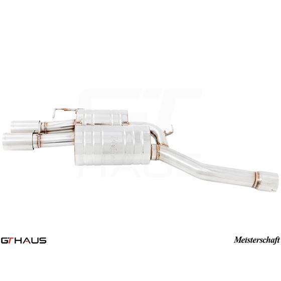 GTHAUS HP Touring Exhaust- Stainless- BM0921101-4