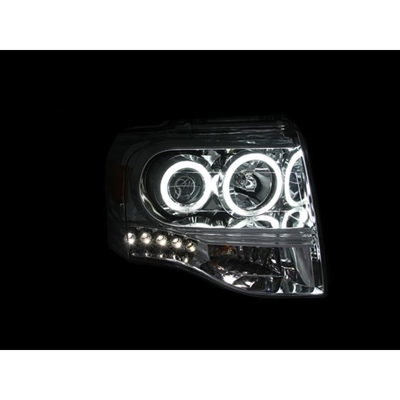 ANZO 2007-2014 Ford Expedition Projector Headlig-2